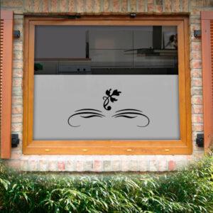 Fensterfolie Malve