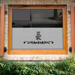 Fensterfolie Tulpe