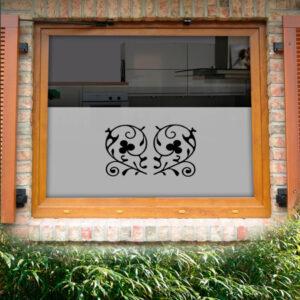Fensterfolie Klee