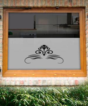 Fensterfolie Farn