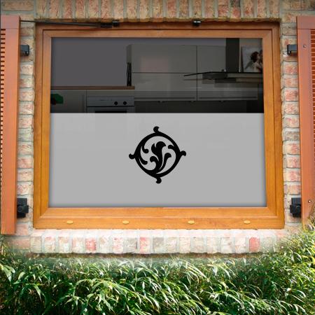 Fensterfolie Seidelbast