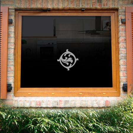 Fensterdekor Seidelbast