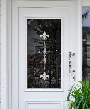 Glasdekor für Türen Tiffany