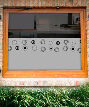 Fensterfolie Blasen