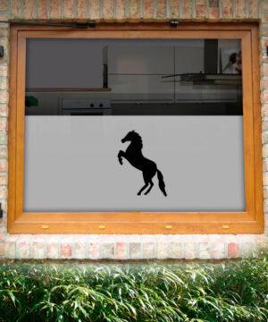 Fensterfolie Pferd