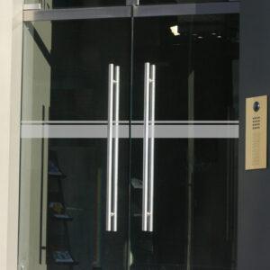 Kennzeichnung von Glastüren Horizont