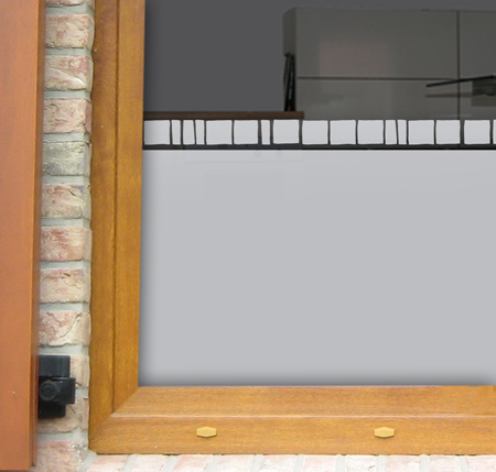 Fensterfolie mit Bordüre Toskana