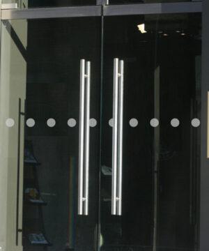 Glastür Kennzeichnung Kreise 5 cm