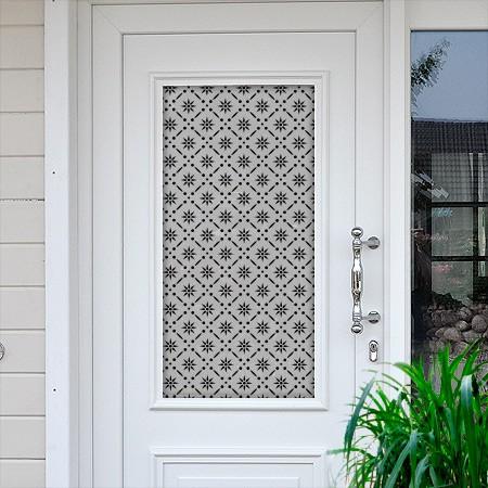 Sichtschutzfolie für Haustüren Margeriten