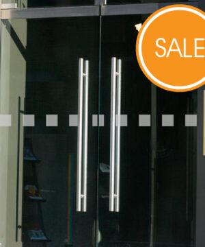 Glastür Aufkleber Quadrate im Angebot
