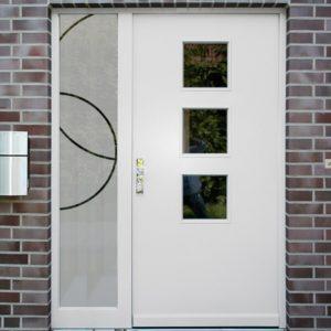 Sichtschutzfolie für Seitenteile Ringe