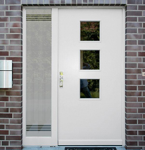 Sichtschutzfolie für Haustür Seitenteile Stuttgart