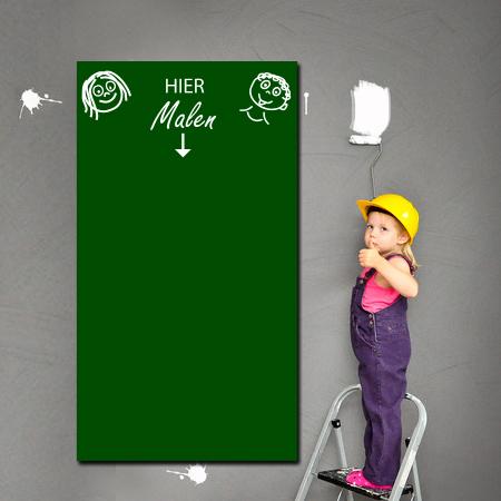 Tafelfolie für Kids in grün