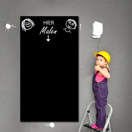 Tafelfolie für Kids in schwarz