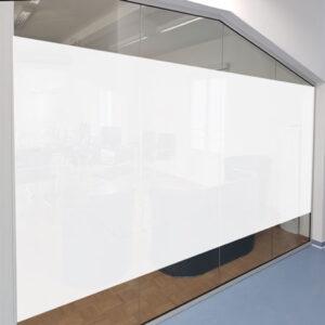 Milchglasfolie für Büroräume