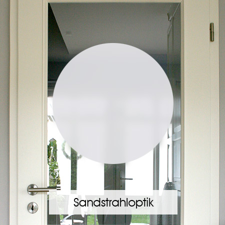 Muster in Sandstrahloptik