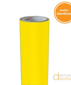 Gelbe Klebefolie matt