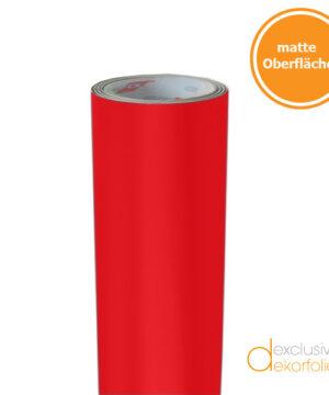 Rote Klebefolie matt