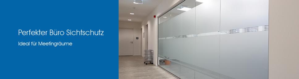 Büro Sichtschutzfolie für Meetingräume