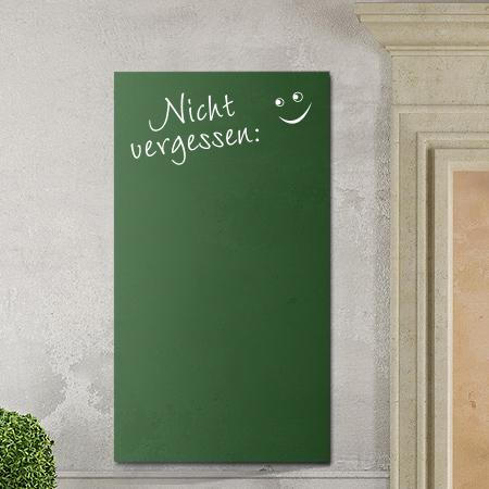 Tafelfolie mit Dekor nicht vergessen grün