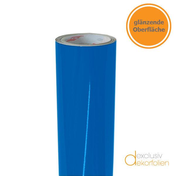 Azurblaue Klebefolie RAL 5015