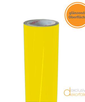 Gelbe Klebefolie glänzend
