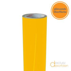 Goldgelbe Klebefolie glänzend
