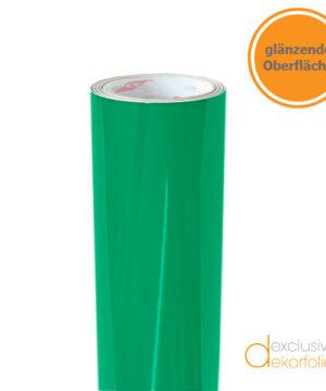 grüne glänzende Klebefolie