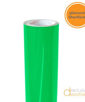 Hellgrüne Klebefolie glänzend