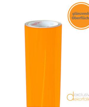 Klebefolie orange glänzend