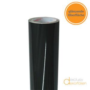 farbfolie glänzend schwarz