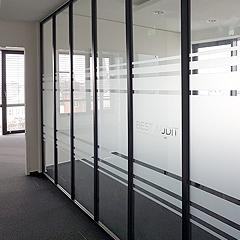 Sichtschutzfolie für Meetingraum