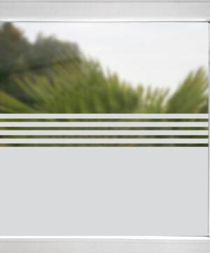 Sichtschutzfolie mit Streifen Frankfurt