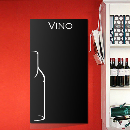 Tafelfolie mit Dekor Vino